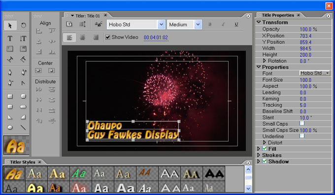 Download adobe title designer free software and for Adobe premiere pro slideshow templates