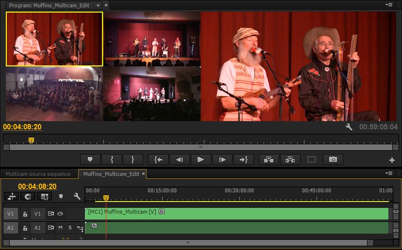 Premiere multicam workflow
