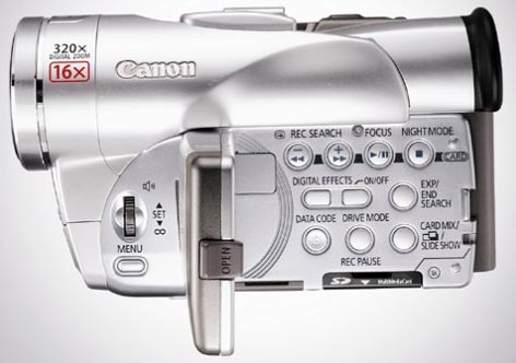 100 camcorder canon elura: