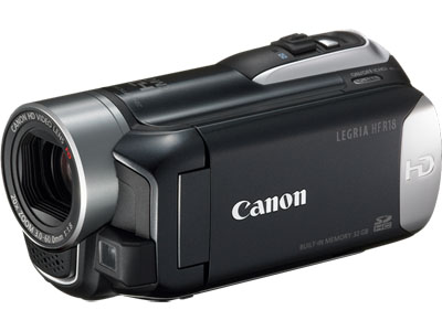 The ultimate in Compact HD Digital Video Cameras, you won't leave home ...