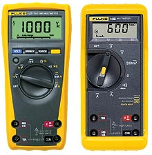 fluke 70 series digital multimeters rh mediacollege com Fluke 73 Series 2 Multimeter Fluke 88 Multimeter