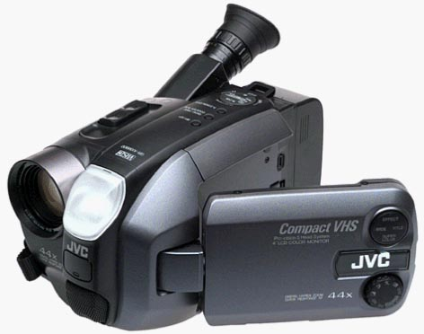 Camcorder Jvc Compact Vhs Camcorder