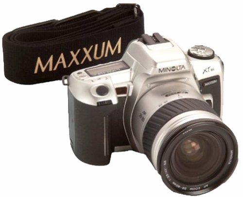 Minolta Maxxum 3 SLR Film Camera with AF Zoom 35 80mm 22 5 6 Lens ...