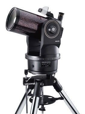 Телескоп системы Максутова-Кассегрена, световой диаметр 125 мм, предельно слабые звезды до 12,5 зв.вел.