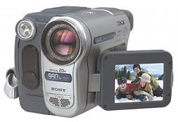 Handycam Sony DCR-TRV265E, Digital 8, Zeiss 20× Opt., Touch, USB, 1A!