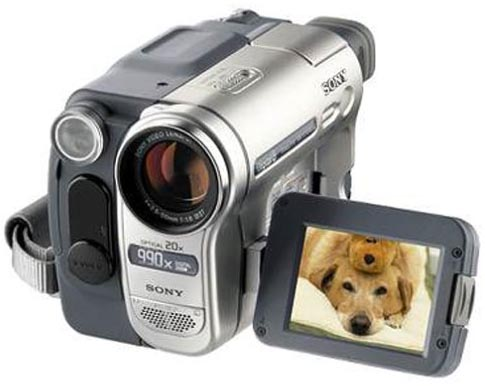 Digital 8 camcorder firewire webcam