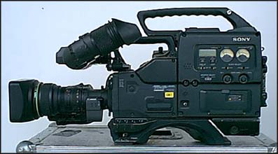 Sony Betacam : Left View