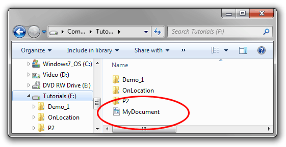 File Extension Example How to Change a File Extension