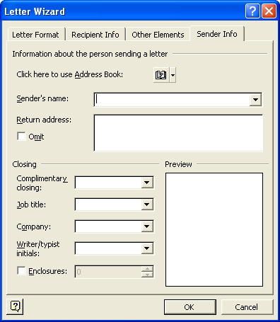 enter letters to make words microsoft word letter formatting wizard 21524 | word2 html m11846629